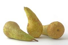 Pears. A few pears on the background Royalty Free Stock Photo