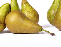 Pears. On a white background Royalty Free Stock Photography