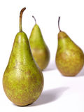 Pears. On a white background Royalty Free Stock Images