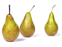 Pears. On a white background Stock Photography