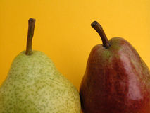 Pears. Two pears Stock Photography