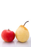 Pears and appel Stock Photo
