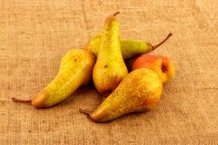Pears appetizing pile Stock Photo