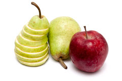 Pears & Apple Stock Images