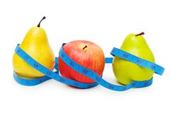 Pears and apple Royalty Free Stock Photo