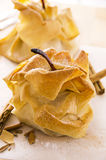 Pears Baked in Crisp Dough Stock Photography