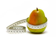 Pears calories. Calories calculation Stock Images