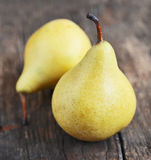 Pears close up Royalty Free Stock Photos