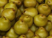 Pears closeup. Closeup of Williams pears in a local market Stock Photos