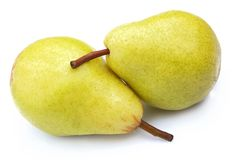 Pears clouse up Stock Images