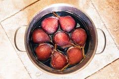 Pears dessert Royalty Free Stock Photos
