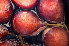 Pears dessert Stock Photography