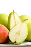 Pears in detail Stock Images
