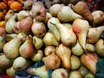 Pears on display Stock Image