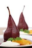 pears för krämfraicheapelsiner tjuvjagade Arkivbilder