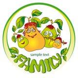 Pears family Royalty Free Stock Photo