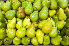Pears in food store Royalty Free Stock Image