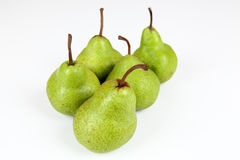 Pears. Fresh pears with withe background Stock Photography