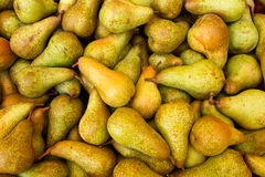 Pears fruit. Fruit pears apple market in italy Royalty Free Stock Images
