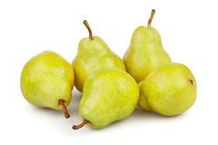 Pears group Stock Image