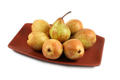 Pears isolated Stock Images