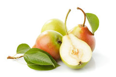 Pears isolated Stock Photography