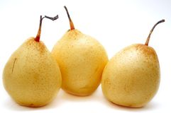 Pears Isolated Royalty Free Stock Photo