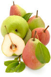 Pears & isolated Royalty Free Stock Photos
