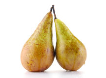 Pears isolated on white. Background Stock Images