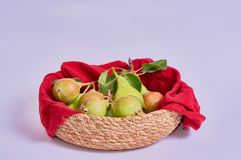 pears isolated on white background royalty free stock photography