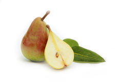 Pears. Isolated on the white background Royalty Free Stock Image