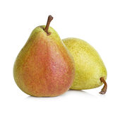 Pears isolated on white Royalty Free Stock Photos