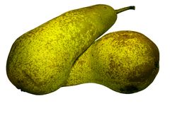 Pears. Isolated on white background Royalty Free Stock Image
