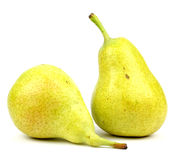 Pears isolated on white background Royalty Free Stock Image
