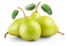 Pears isolated Stock Photos