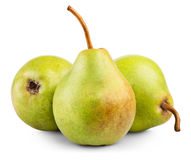Pears isolated Royalty Free Stock Photography