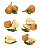 Pears isolated on white background food. Pears isolated on white background Stock Photo