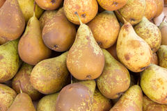 Pears at a market Stock Image