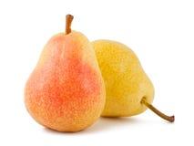 pears mogna två Royaltyfri Bild
