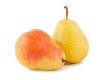pears mogna två Arkivfoto