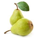 pears mogna två Royaltyfri Foto