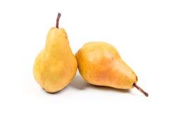 pears mogna två Arkivfoton
