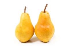 pears mogna två Royaltyfria Foton