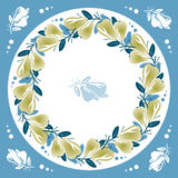 Pears motif Stock Images
