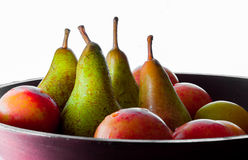 Pears and other fruits stock photo