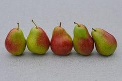 Pears på tabellen Arkivbilder
