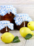 Pears and pear jam Stock Photo