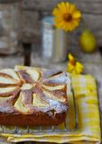 Pears  pie Royalty Free Stock Images