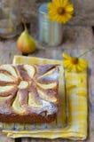 Pears  pie Stock Photos