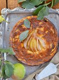 Pears  pie Royalty Free Stock Photography